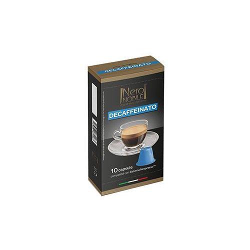 Nero nobile Kapsułki do nespresso* bezkofeinowa/decaffeinato 10 kapsułek - do 12% rabatu przy większych zakupach oraz darmowa dostawa (8033993874510)