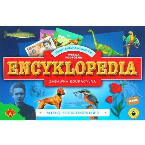 Gra ALEXANDER Encyklopedia - mózg elektronowy