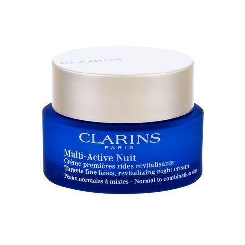 multi-active nuit krem dla skóry normalnej i mieszanej 50 ml 30+ marki Clarins