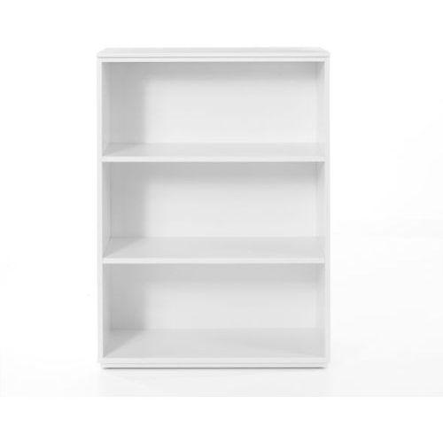 Regał 110/80 cm z regulowaną wysokością półek Performance 2 - biały - sprawdź w Meble Pumo
