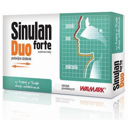 Sinulan duo forte x 60 tabletek wyprodukowany przez Walmark