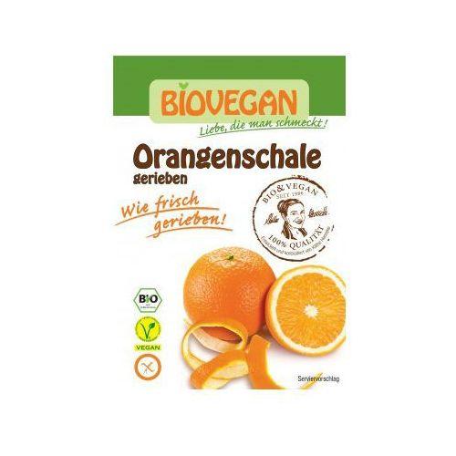 Skórka pomarańczy suszona bezglutenowa bio 9g marki Biovegan