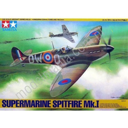 Tamiya Myśliwiec supermarine spitfire mk.i 61032 (4950344995875)