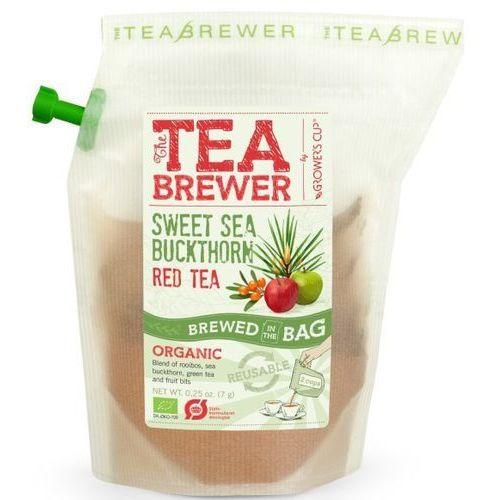 Herbata Czerwona Rooibos z Rokitnikiem 7g - Teabrewer EKO