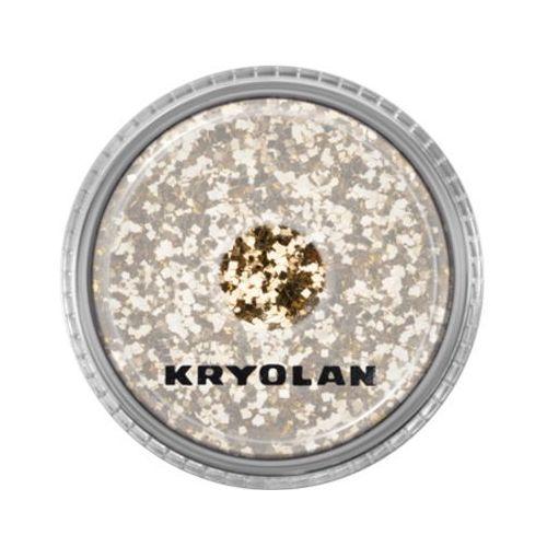 polyester glimmer coarse (light gold) gruby sypki brokat - light gold (2901) marki Kryolan