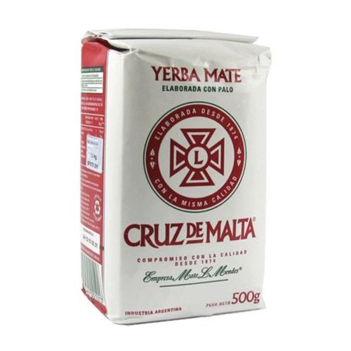 Yerba mate Elaborada Con Palo 500g Cruz de Malta