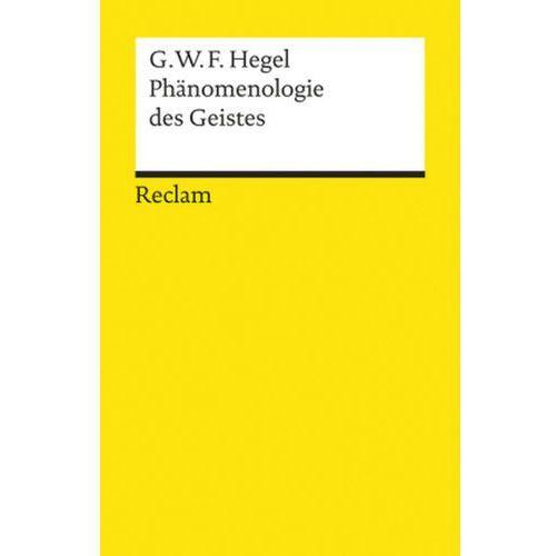 Phänomenologie des Geistes (9783150084601)