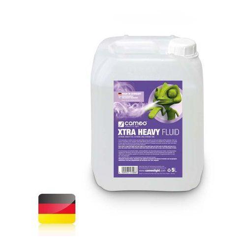 Cameo xtra heavy fluid 5l płyn do wytwarzania mgły o dużej gęstości i ekstremalnie długiej trwałości