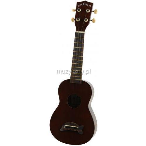 Kala Makala SD-BR ukulele sopranowe, brązowe