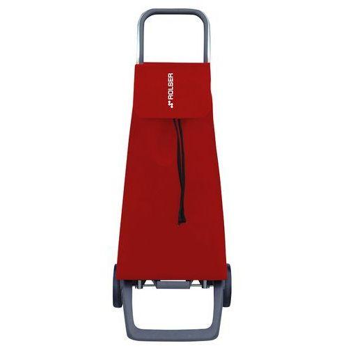 Wózek zakupowy Rolser Joy Jet czerwony (wózek na zakupy)
