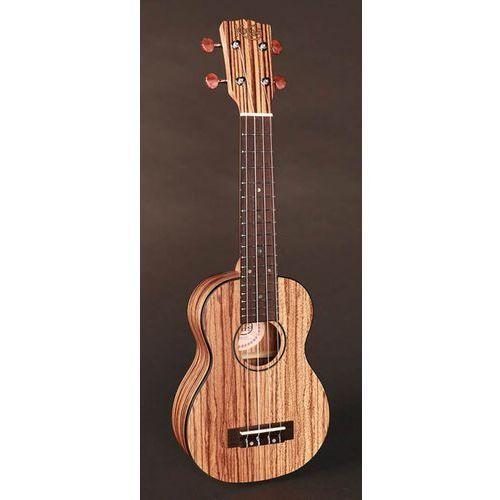 Korala uks-510 ukulele sopranowe, zebrano