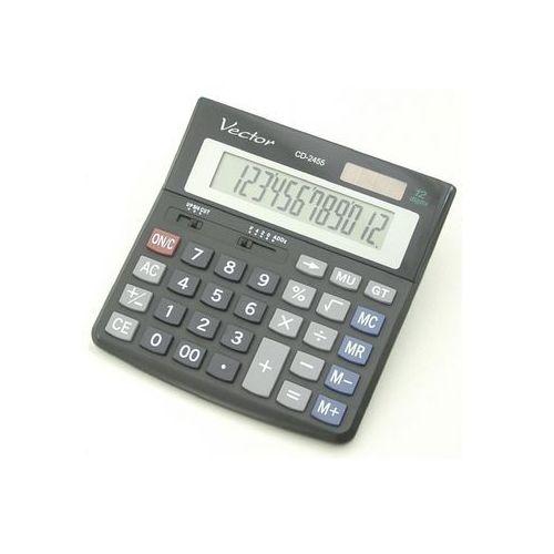 wyświetlacz 12 pozycji podwójne zasilaniezmiana znaku +/- obliczenia procentoweobliczenia z użyciem pamięciobliczenia pierwiastkoweobliczanie sumy końcowejobliczanie marży funkcja zaokrąglaniaklawisz podwójnego zera trwała obudowa - produkt z kategorii- Kalkulatory