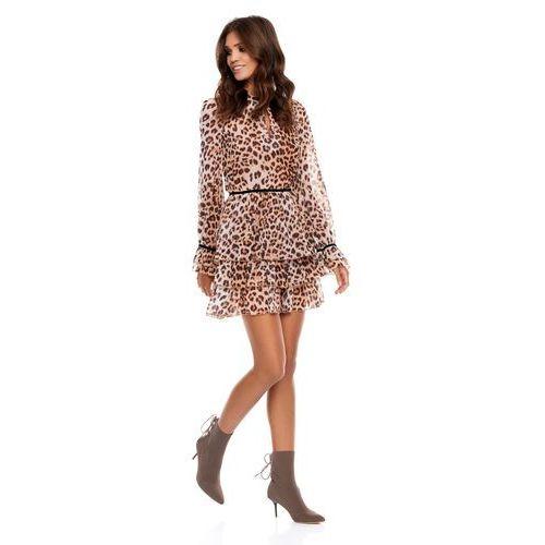 Sukienka jackie w panterkę marki Sugarfree