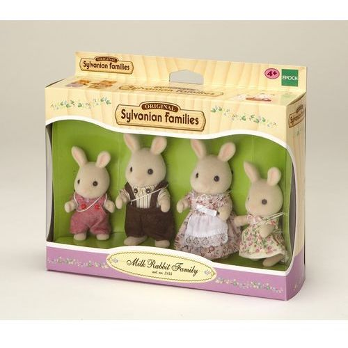 Sylvanian Families, rodzina biszkoptowych królików, zestaw figurek ze sklepu Smyk