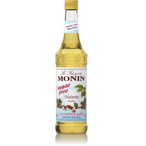 Monin Syrop smakowy hazelnut sugar free, orzech bez dodatku cukru 0,7 (3052910041175)