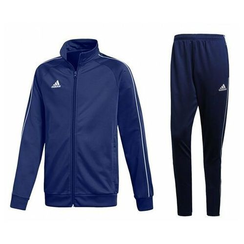 Adidas Dres męski core 18 bluza / spodnie cv3563 / cv3988 - granatowy