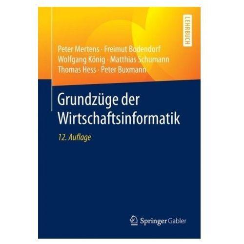 Grundzüge der Wirtschaftsinformatik (9783662533611)