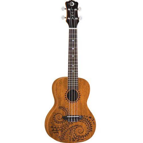 Luna Uke Tattoo Mahogany - ukulele koncertowe