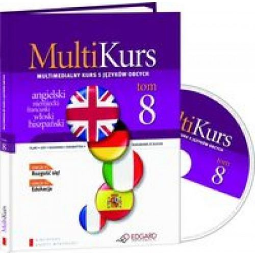 Multikurs. Tom 8 (+ CD), praca zbiorowa