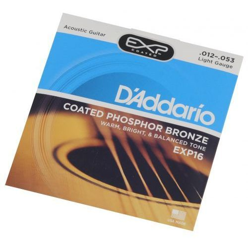 D′Addario EXP 16 struny do gitary akustycznej 12-53