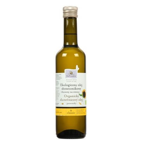 BIO PLANETE 500ml Ekologiczny olej słonecznikowy tłoczony na zimno (Oleje, oliwy i octy)