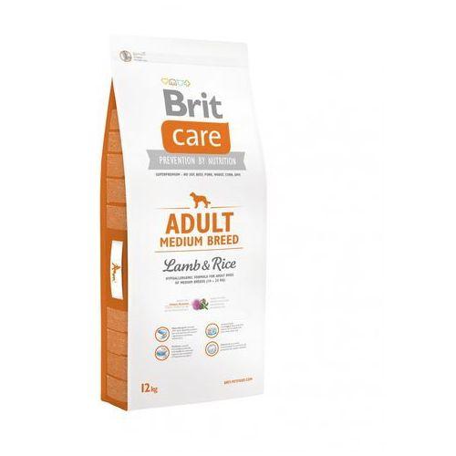 Brit care adult medium breed lamb & rice12- zamów do 16:00, wysyłka kurierem tego samego dnia! (8595602509928)