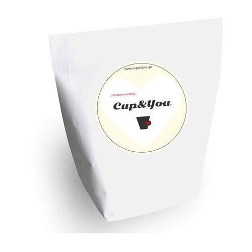 Zakochane herbaty - torebka 10 x saszetka 5g, 8g – zestaw wyjątkowych herbat specjalnie dla kochanków marki Cup&you cup and you