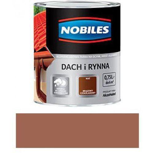 NOBILES DACH I RYNNA-Brąz ceglasty RAL 8004 -0,75L (rynna)