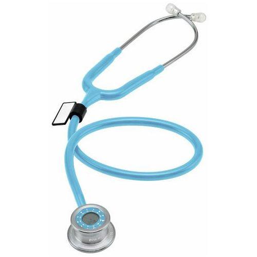 Mdf Stetoskop pulse time 740 z zegarem - błękitny (6940211618110)