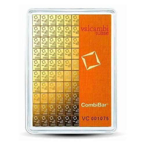 100 x 1 g sztabka złota combibar - 15 dni marki Valcambi switzerland