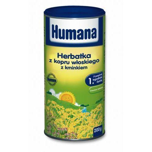 Humana herbatka z kopru włoskiego z kminkiem 200g marki Humana gmbh
