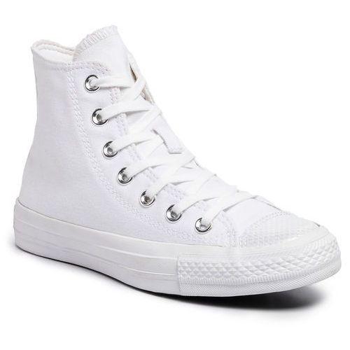 Sneakersy CONVERSE - Ctas Hi 565199C White/White/White, w 3 rozmiarach