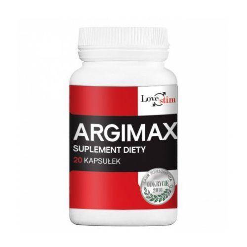 Argimax lovestim 20 kaps. l-arginina 1000 mg 521970 marki Love stim