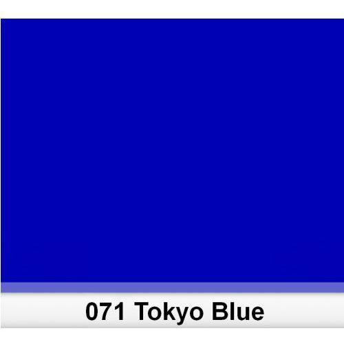 Lee 071 tokyo blue filtr barwny folia - arkusz 50 x 60 cm