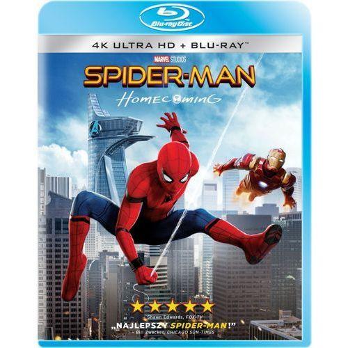 Spider-Man: Homecoming (2D+4K UHD) (Blu-ray) - Jon Watts. DARMOWA DOSTAWA DO KIOSKU RUCHU OD 24,99ZŁ (5903570073090)