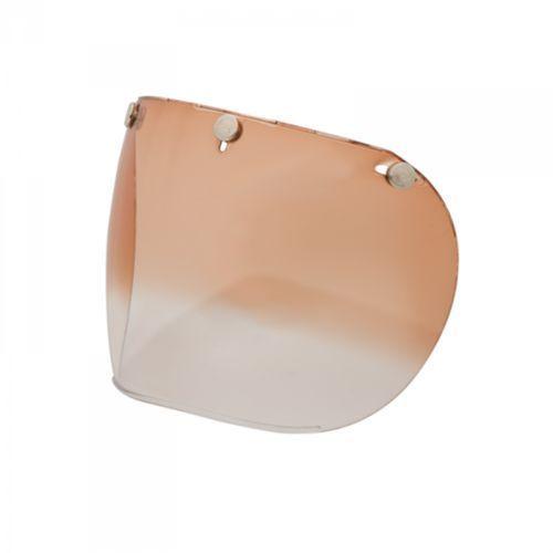 Bell custom 500 3 snap retro amber gradient szybka