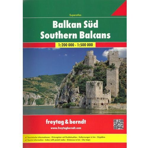 Southern Balcans, 1:200 000 1:500 000, oprawa miękka