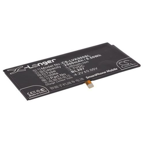 Lenovo K100 / BL207 2500mAh 9.07Wh Li-Polymer 3.8V (Cameron Sino) (4894128083092)