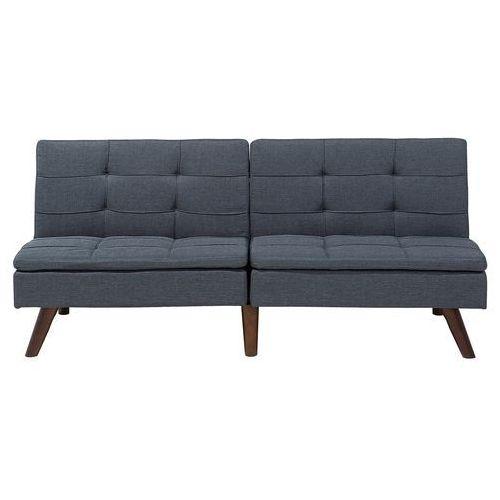 Sofa z funkcją spania szara - kanapa rozkładana - wersalka - ronne marki Beliani