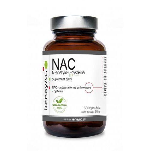 Kenay NAC N-acetylo-L-cysteina - 60 kapsułek (5900672153392)