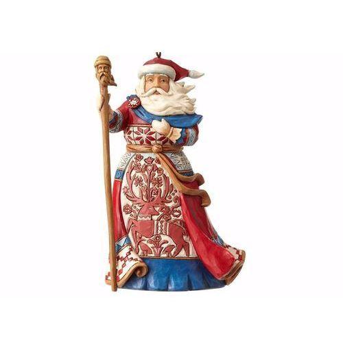 Mikołaj zawieszka lapland santa (hanging ornament) 4058814 figurka ozdoba świąteczna marki Jim shore