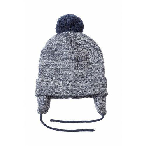 Czapka zimowa wiązana dla chłopca 1X3515