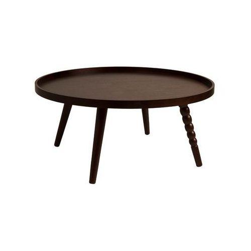Stolik kawowy okrągły arabica - różne rozmiary - xl: 35 wys. x 78 szer. x 78 gł. marki Dutchbone