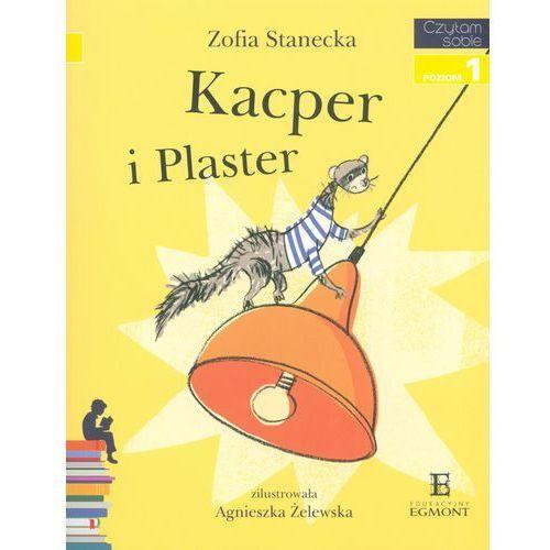 Czytam sobie. Poziom 1. Kacper i Plaster + zakładka do książki GRATIS (9788323771128)
