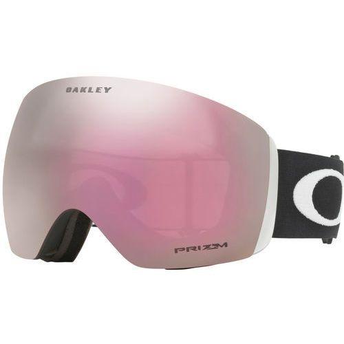 Oakley flight deck gogle mężczyźni, matte black/w prizm hi pink iridium 2020 gogle narciarskie (0888392171726)