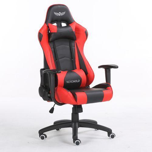 Nordhold Fotel gamingowy - ymir - czerwony (5907176696776)