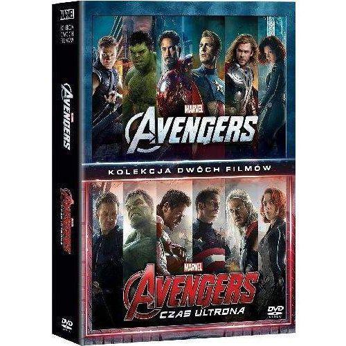 Avengers, Pakiet 2 filmów (Avengers / Avengers: Czas Ultrona) (2 DVD) (Płyta DVD) (7321916504974)