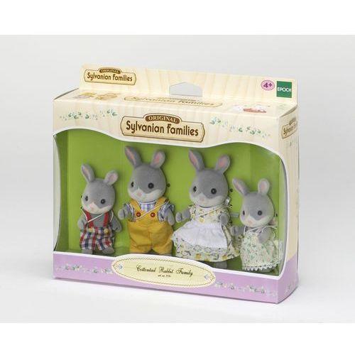 Sylvanian Families, rodzina szarych króliczków, zestaw figurek - sprawdź w Smyk