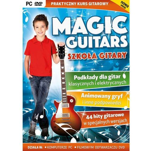 Magic Guitars Szkoła Gitary PC-DVD, 75578103415DV (4856716)