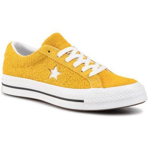Tenisówki - one star ox 165033c gold dart/white/black, Converse, 36-46